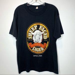 Vintage Let's Get Sheep Faced Lager T Shirt